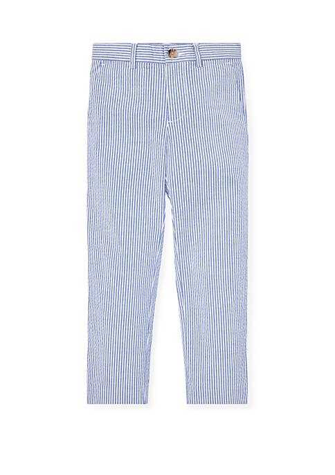 Ralph Lauren Childrenswear Boys 4-7 Skinny Fit Seersucker
