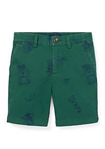 Ralph Lauren Childrenswear Boys 4-7 Slim Fit Stretch Chino Shorts