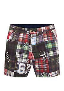 Ralph Lauren Childrenswear Boys 4-7 Reversible Cotton Shorts