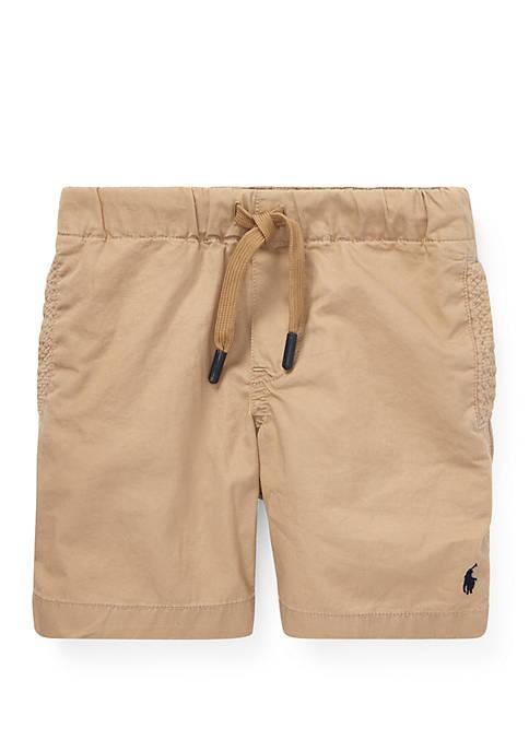 Boys 4-7 Cotton Chino Pull On Shorts