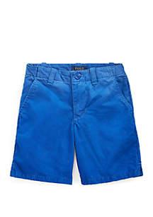 Ralph Lauren Childrenswear Boys 4-7 Straight Fit Cotton Shorts