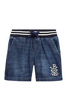Ralph Lauren Childrenswear Boys 4-7 Denim Shorts