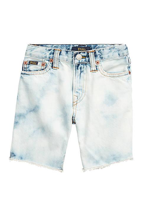 Ralph Lauren Childrenswear Boys 4-7 Frayed Cotton Denim