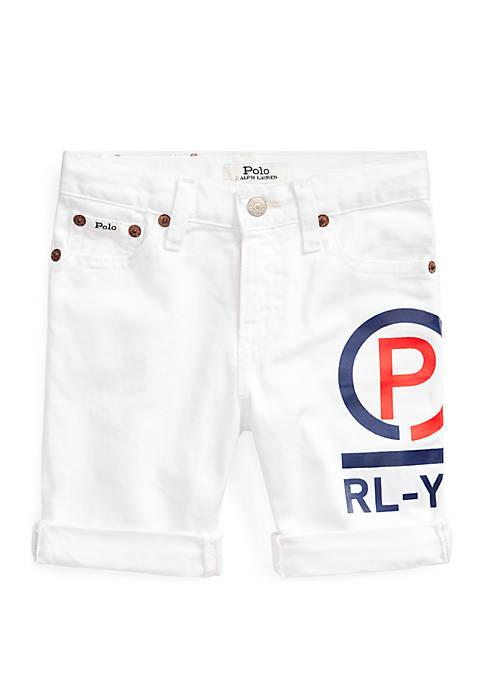 Boys 4-7 CP Cotton Denim Shorts