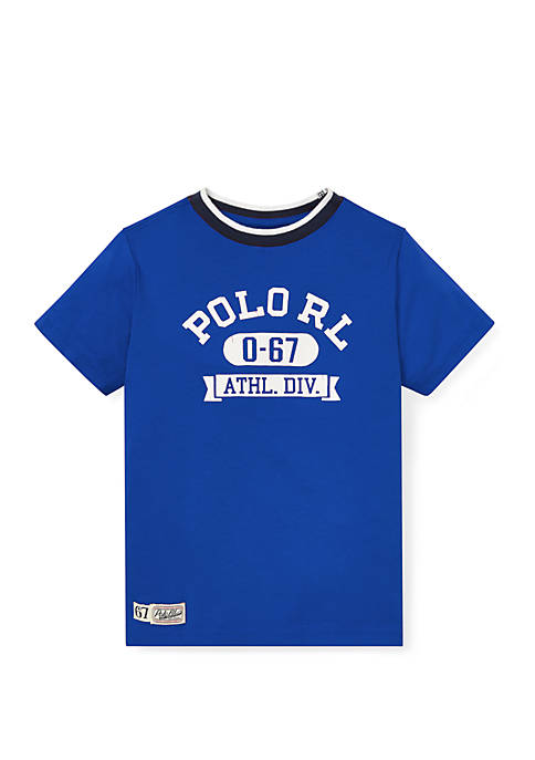 Ralph Lauren Childrenswear Boys 4-7 Cotton Jersey Graphic
