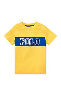 Ralph Lauren Childrenswear Boys 4-7 Cotton Jersey Graphic T Shirt