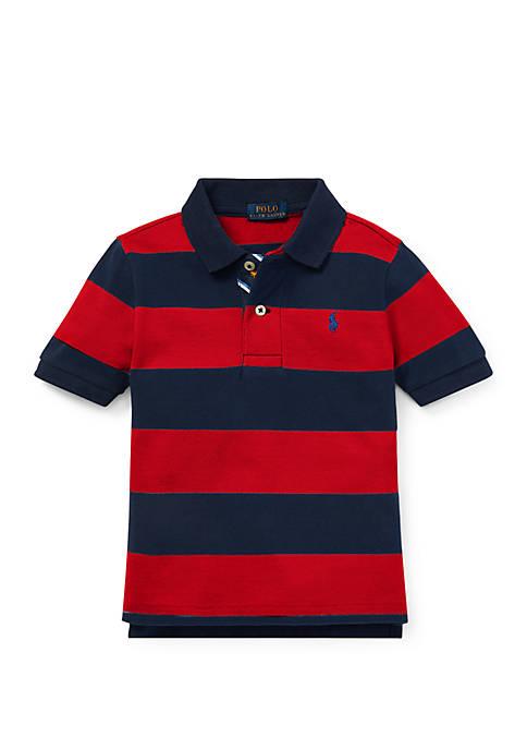 Ralph Lauren Childrenswear Boys 4-7 Striped Cotton Mesh