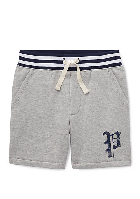 Ralph Lauren Childrenswear Boys 4-7 Twill Terry Short