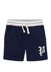 Ralph Lauren Childrenswear Boys 4-7 Twill Terry Shorts