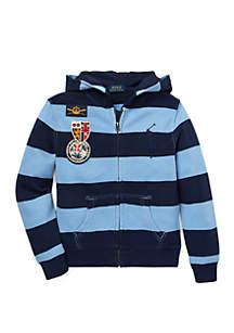 Ralph Lauren Childrenswear Boys 4-7 Cotton French Terry Hoodie