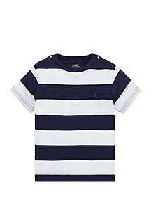 Ralph Lauren Childrenswear Boys 4-7 Striped Cotton Jersey Tee