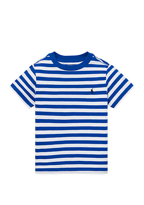 Boys 4-7 Striped Cotton Jersey Tee