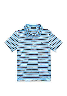 Ralph Lauren Childrenswear Boys 4-7 Performance Lisle Polo Shirt