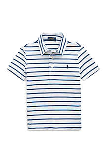 Ralph Lauren Childrenswear Boys 4-7 Performance Lisle Polo Shirt