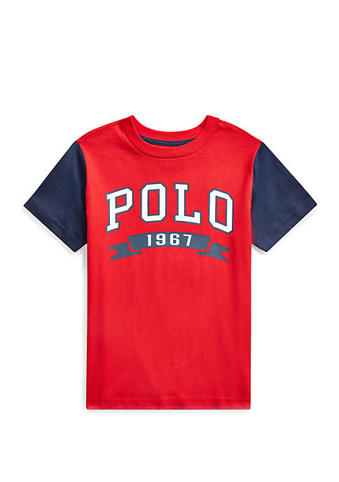 Boys 4-7 Cotton Jersey Graphic Tee