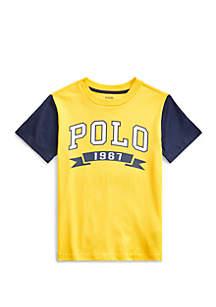 Ralph Lauren Childrenswear Boys 4-7 Cotton Jersey Graphic Tee