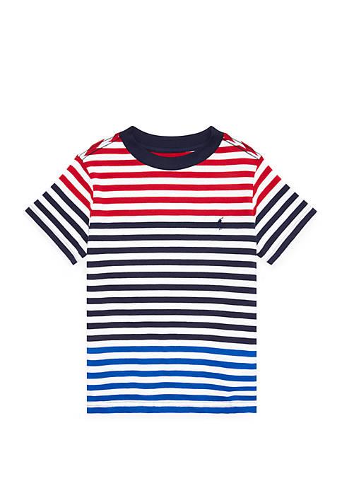 Boys 4-7 Striped Cotton Jersey Tee