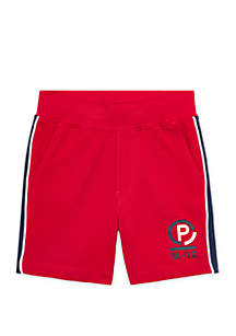 Ralph Lauren Childrenswear Boys 4-7 Cotton Mesh Shorts