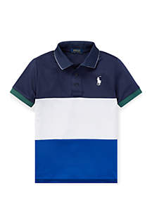 8a467141999 ... Ralph Lauren Childrenswear Boys 4-7 Tech Mesh Polo Shirt