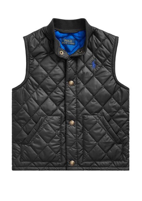 Boys 4-7 Quilted Water Repellent Vest