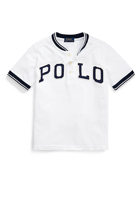 Ralph Lauren Childrenswear Boys 4-7 Polo Cotton Mesh