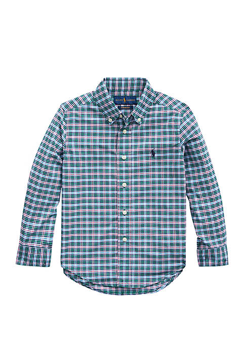 Boys 4-7 Performance Poplin Shirt