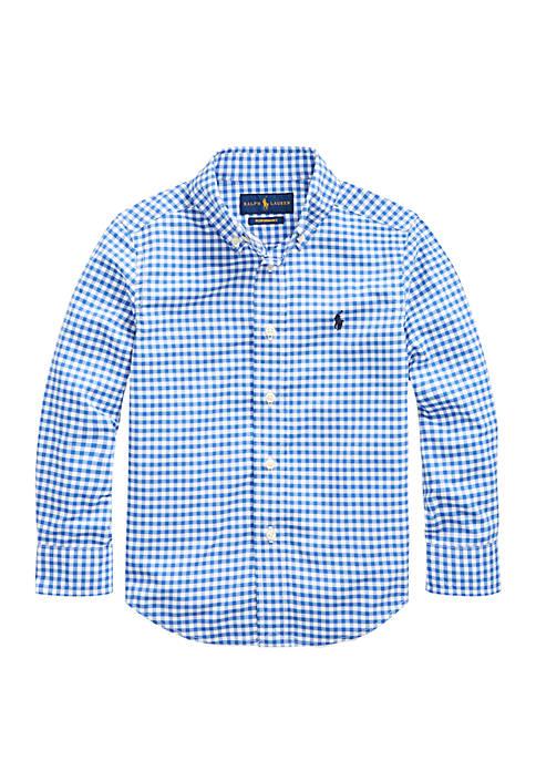 Ralph Lauren Childrenswear Boys 4-7 Performance Poplin Shirt