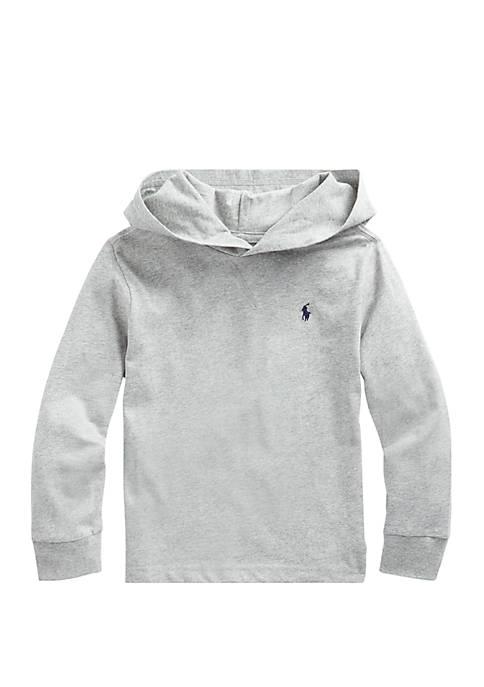 Ralph Lauren Childrenswear Boys 4-7 Cotton Jersey Hooded