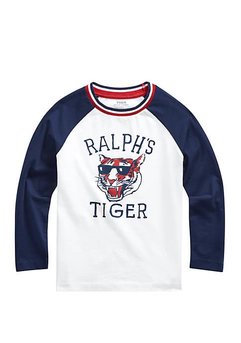 Ralph Lauren Childrenswear Boys 4-7 Cotton Graphic Baseball