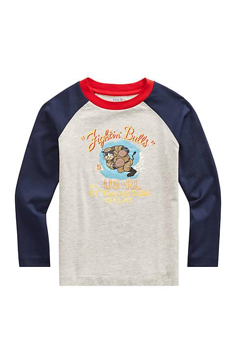 Boys 4-7 Cotton Jersey Graphic Baseball T-Shirt
