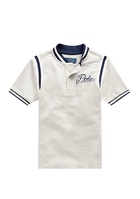 Ralph Lauren Childrenswear Boys 4-7 Cotton Mesh Baseball