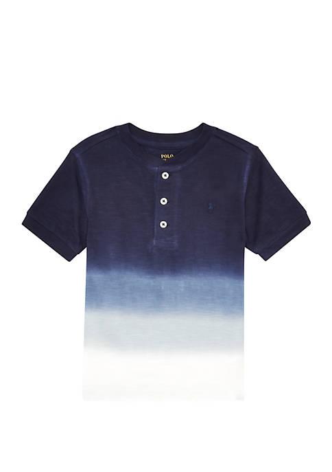 Ralph Lauren Childrenswear Boys 4-7 Ombré Cotton Jersey