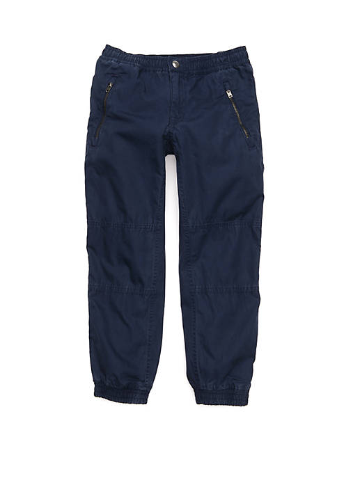 Boys 4-7 Cotton Poplin Jogger Pants