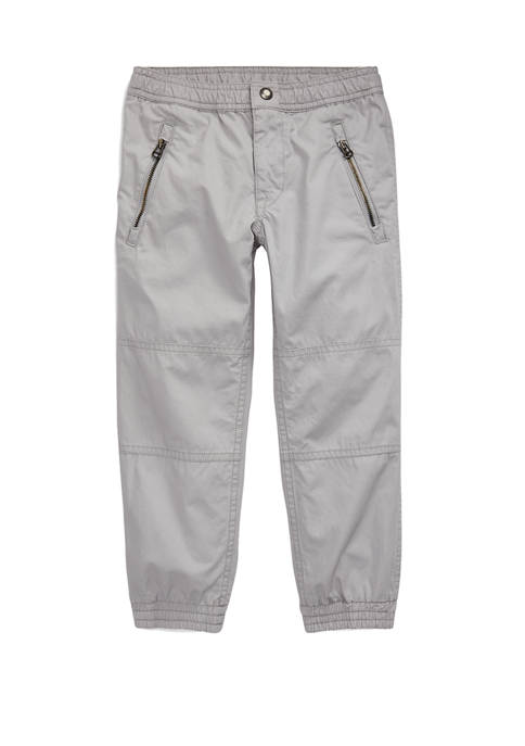 Ralph Lauren Childrenswear Boys 4-7 Cotton Poplin Jogger