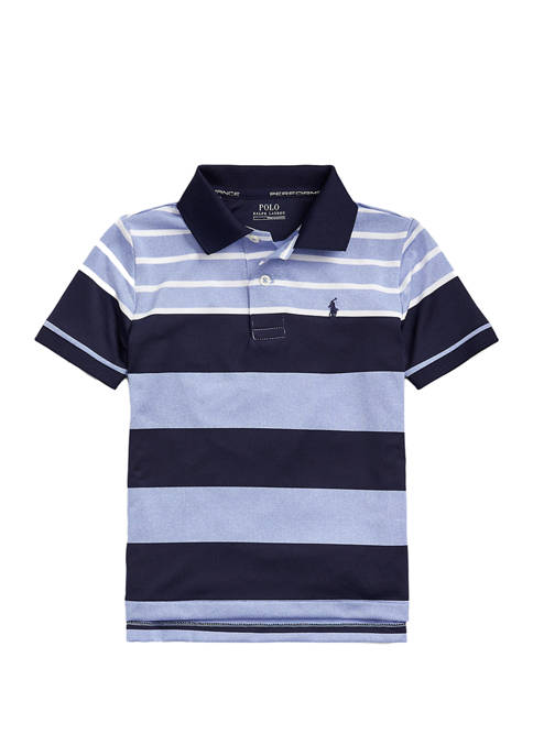 Boys 4-7 Performance Stretch Jersey Polo Shirt