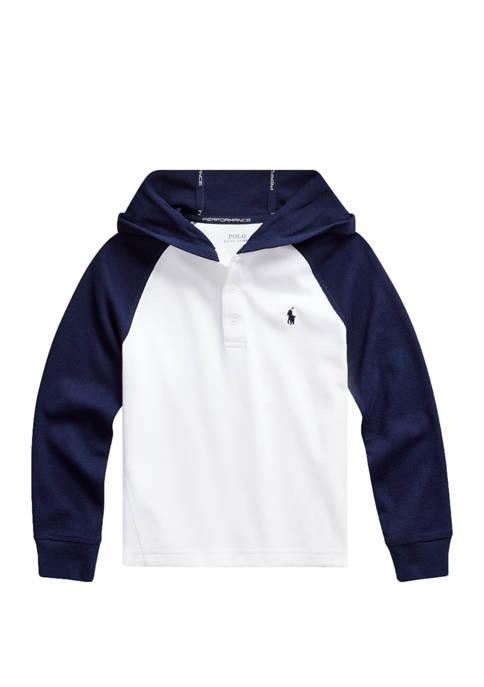 Ralph Lauren Childrenswear Boys 4-7 Color-Blocked Cotton-Blend