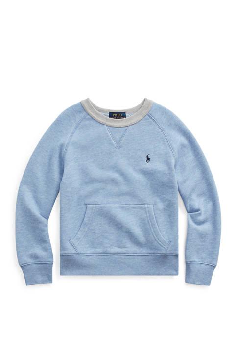 Boys 4-7 Twill Terry Sweatshirt