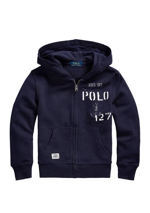 Boys 4-7 Nautical French Terry Hoodie