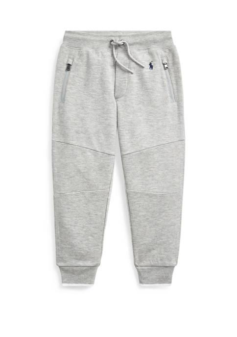Ralph Lauren Childrenswear Boys 4-7 Piqué Jogger Pant