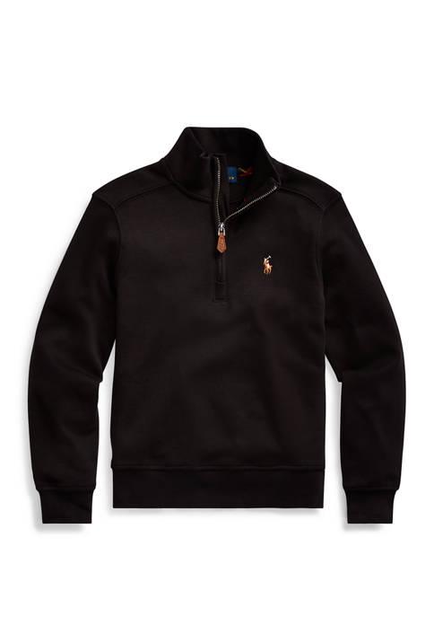 Ralph Lauren Childrenswear Boys 4-7 Cotton Interlock Pullover