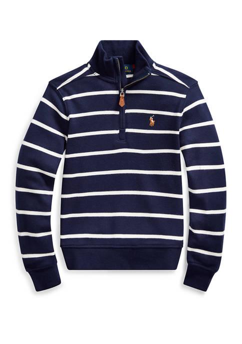 Boys 4-7 Cotton Interlock Pullover