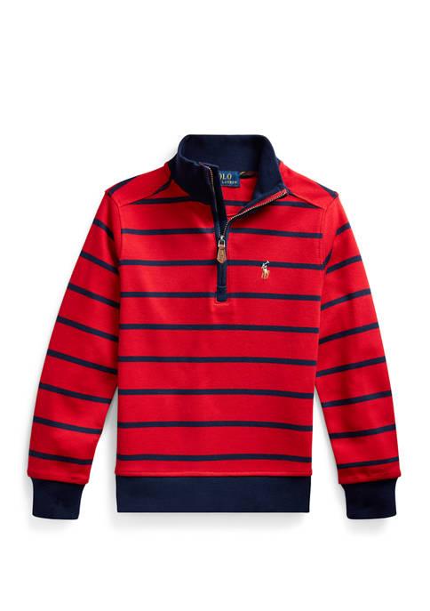 Ralph Lauren Childrenswear Boys 4-7 Half Zip Pullover