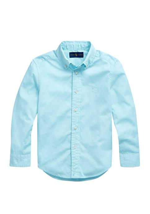 Boys 4-7 Cotton Twill Shirt
