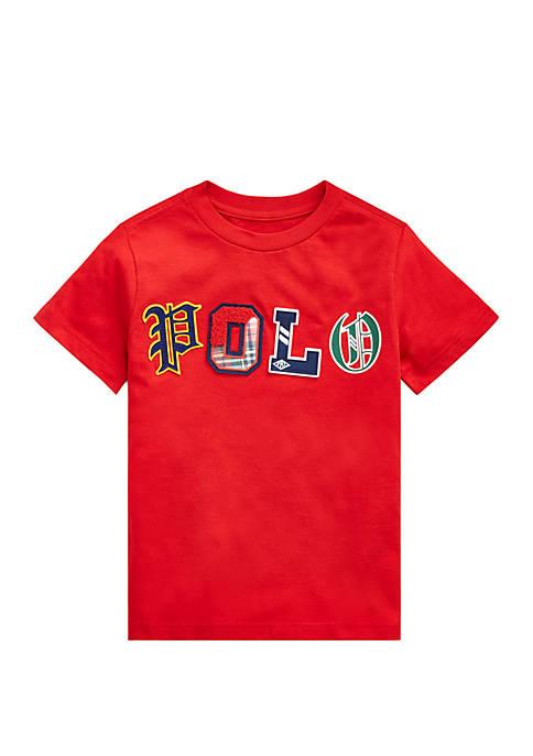 Boys 4-7 Logo Cotton Jersey T-Shirt