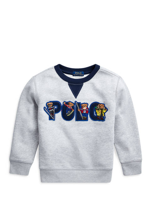 Ralph Lauren Childrenswear Boys 4-7 Ski Bear Fleece