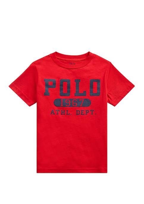 Ralph Lauren Childrenswear Boys 4-7 Cotton Jersey Graphic