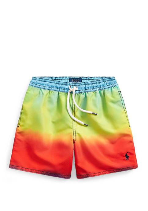 Boys 4-7 Captiva Rainbow Swim Trunks