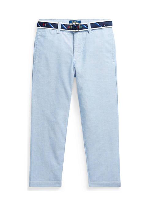 Ralph Lauren Childrenswear Boys 4-7 Belted Oxford Skinny