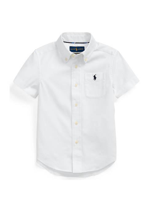 Ralph Lauren Childrenswear Boys 4-7 Performance Oxford Shirt
