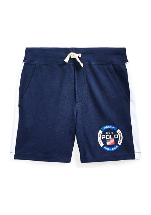 Ralph Lauren Childrenswear Boys 4-7 Cotton Mesh Graphic
